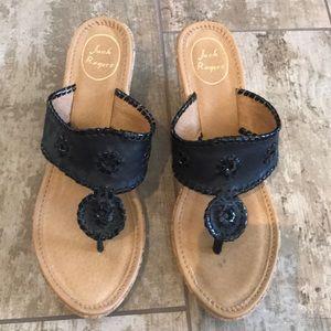 Beautiful Jack Rogers Sandals with Wedge Heel